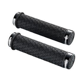 SRAM Poignée DH en silicone - Grips - avec vis de blocage noir